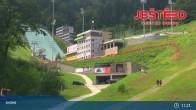 Archived image Webcam View from Stanice lanovky ČD, Liberec - Horní Hanychov 05:00