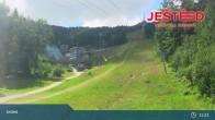 Archived image Webcam View from Stanice lanovky ČD, Liberec - Horní Hanychov 07:00