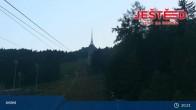 Archiv Foto Webcam Blick auf den Ještěd 19:00