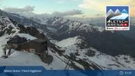 Archived image Webcam Top station Fiescheralp-Eggishorn (Aletsch Arena) 19:00