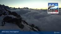 Archived image Webcam Top station Fiescheralp-Eggishorn (Aletsch Arena) 23:00