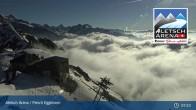 Archived image Webcam Top station Fiescheralp-Eggishorn (Aletsch Arena) 01:00