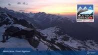 Archiv Foto Webcam Bergstation Fiescheralp-Eggishorn (Aletsch Arena) 23:00