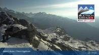 Archiv Foto Webcam Bergstation Fiescheralp-Eggishorn (Aletsch Arena) 01:00
