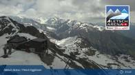 Archiv Foto Webcam Bergstation Fiescheralp-Eggishorn (Aletsch Arena) 05:00