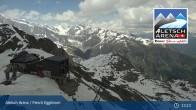 Archiv Foto Webcam Bergstation Fiescheralp-Eggishorn (Aletsch Arena) 07:00