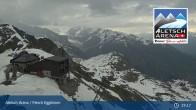 Archiv Foto Webcam Bergstation Fiescheralp-Eggishorn (Aletsch Arena) 13:00