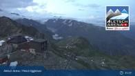 Archiv Foto Webcam Bergstation Fiescheralp-Eggishorn (Aletsch Arena) 21:00