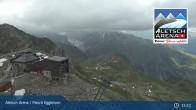 Archiv Foto Webcam Bergstation Fiescheralp-Eggishorn (Aletsch Arena) 09:00
