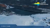 Archiv Foto Webcam St. Moritz - Corviglia 21:00