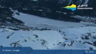 Archiv Foto Webcam St. Moritz - Corviglia 19:00
