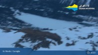 Archiv Foto St. Moritz Corviglia: Video-Webcam 19:00