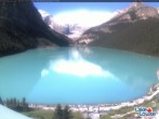 Archiv Foto Webcam Lake Louise: The Fairmont Chateau 03:00