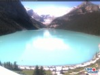 Archiv Foto Webcam Lake Louise: The Fairmont Chateau 05:00