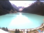 Archiv Foto Webcam Lake Louise: The Fairmont Chateau 07:00