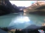 Archiv Foto Webcam Lake Louise: The Fairmont Chateau 01:00