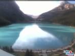 Archiv Foto Webcam Lake Louise: The Fairmont Chateau 05:00