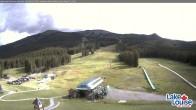Archiv Foto Webcam Talstation Lake Louise 03:00