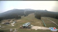 Archived image Webcam Base Area Lake Louise 09:00