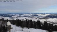 Archiv Foto Webcam Blick vom Hohenbogen Richtung Arber 04:00
