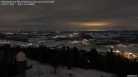 Archiv Foto Webcam Blick vom Hohenbogen Richtung Arber 12:00