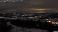 Archiv Foto Webcam Blick vom Hohenbogen Richtung Arber 14:00