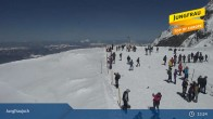 Archiv Foto Webcam Jungfraujoch 07:00