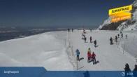 Archiv Foto Webcam Jungfraujoch 09:00