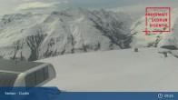 Archiv Foto Webcam Andermatt Sedrun - Livestream Cuolm 03:00