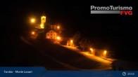 Archiv Foto Webcam Tarvisio - Monte di Lussari 23:00