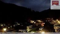 Archived image Webcam Caravanpark of Sexten - Moos 22:00