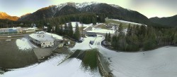 Archiv Foto Webcam Biathlonstadion Antholz 10:00