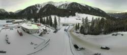 Archiv Foto Webcam Biathlonstadion Antholz 08:00