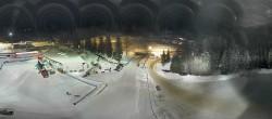 Archiv Foto Webcam Biathlonstadion Antholz 22:00