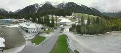 Archiv Foto Webcam Biathlonstadion Antholz 04:00