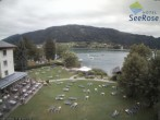 Archiv Foto Webcam Ossiacher See: Blick vom Hotel Seerose 04:00