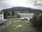 Archiv Foto Webcam Ossiacher See: Blick vom Hotel Seerose 06:00