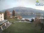 Archiv Foto Webcam Ossiacher See: Blick vom Hotel Seerose 10:00