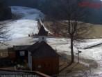 Archiv Foto Webcam Bodental: Blick Familienhof Sereinig auf Skilift 08:00