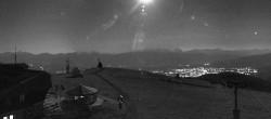 Archiv Foto Webcam Panoramablick Gerlitzen 20:00