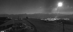 Archiv Foto Webcam Panoramablick Gerlitzen 22:00