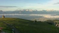 Archiv Foto Webcam Blick vom Gerlitzen Gipfel 00:00