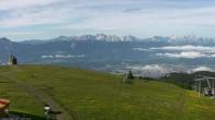 Archiv Foto Webcam Blick vom Gerlitzen Gipfel 02:00