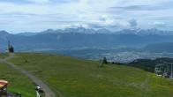 Archiv Foto Webcam Blick vom Gerlitzen Gipfel 04:00