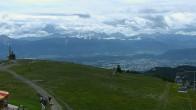 Archiv Foto Webcam Blick vom Gerlitzen Gipfel 06:00