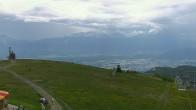 Archiv Foto Webcam Blick vom Gerlitzen Gipfel 08:00