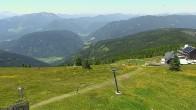 Archiv Foto Webcam Gerlitzen Gipfel, Blick Alpengasthof 06:00