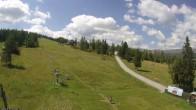 Archiv Foto Webcam Skigebiet auf der Hochrindl 08:00