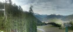 Archiv Foto Webcam Wettersteinbahn: Bergstation 3er Sessellift 06:00