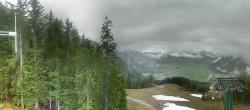 Archiv Foto Webcam Wettersteinbahn: Bergstation 3er Sessellift 04:00